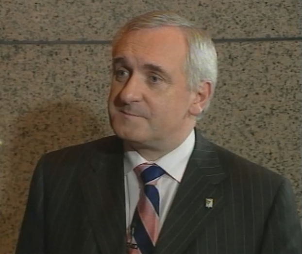 Bertie Ahern in Brussels