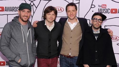 Dan Konopka, Andy Ross, Tim Nordwind and Damian Kulash of OK GO