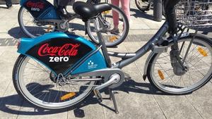 The bike scheme has been rebranded 'Coca-Cola Zero dublinbikes'
