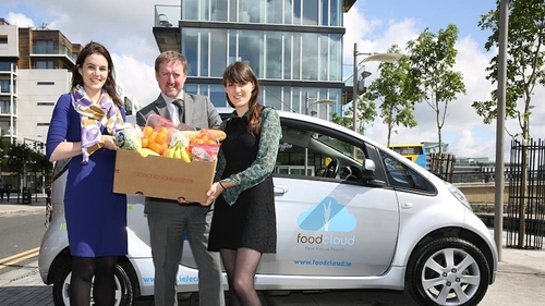 Foodcloud, a social enterprise that turns food waste into a food need, is one of the startups travelling to the US on Trinity's international accelerator programme