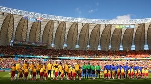 The first match of the day took place at Estádio Beira-Rio in sunny Porto Alegre, which sits just on the coast in Southern Brazil