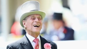 Having the craic: Prince Philip, Duke of Edinburgh attends day two of Royal Ascot at Ascot Racecourse on June 18