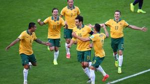 The score put the Australian underdogs up 2-1