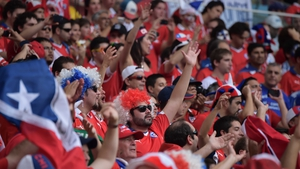 Luckily, fans took their energy into Estádio Maracanã, where they channelled their excitement much less destructively...