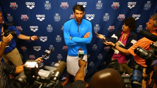 Michael Phelps has entered the 200m individual medley for Sunday