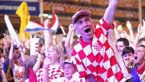 Croatia fans promptly went wild at a public viewing of the match in the capital Zagreb