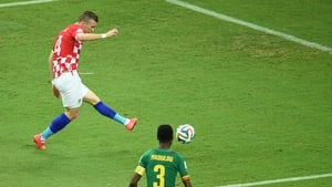 Perisic opened things up very quickly for Croatia to start with second half, with a powerful strike on the left side putting his side up 2-0 at 48'