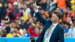 "Louis van Gaal: ""The facts are that Brazil started first. And Brazil again has played first again and we played a day later"""