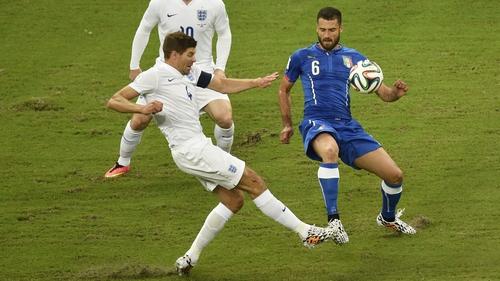 Steven Gerrard's best World Cup finish was a quarter-final