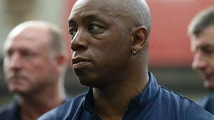 Ian Wright was sent racist messages on social media