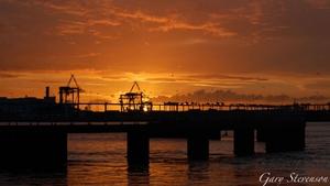 Sunset on a summer's evening in Dublin (Pic: Gary Stevenson)