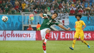 Javier Hernandez has scored 48 goals in 96 appearances for Mexico