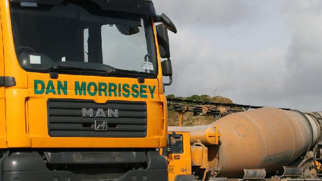 A receiver was called into Dan Morrissey quarrying