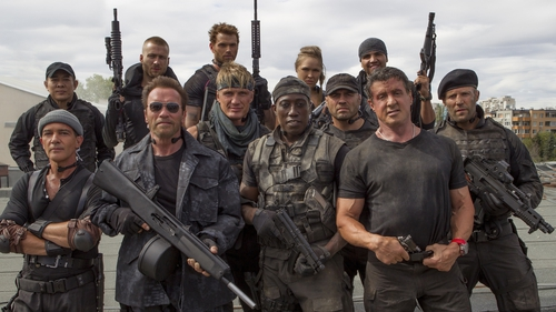 The Expendables 3 is released on Thursday August 14