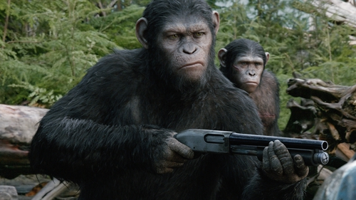 Dawn of the Planet of the Apes is released on Thursday July 17