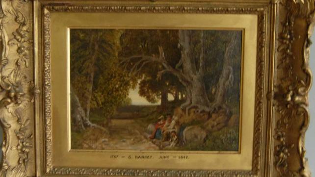 19th Century Irish School artist-inscribed G. Barrett (Oil 60cm X 50)