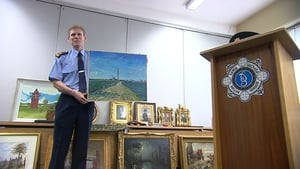 Gardaí have put the items on display to try to find their owners