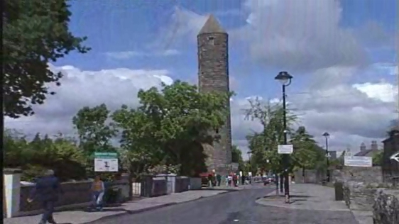 Protest at Plans for Clondalkin Round Tower