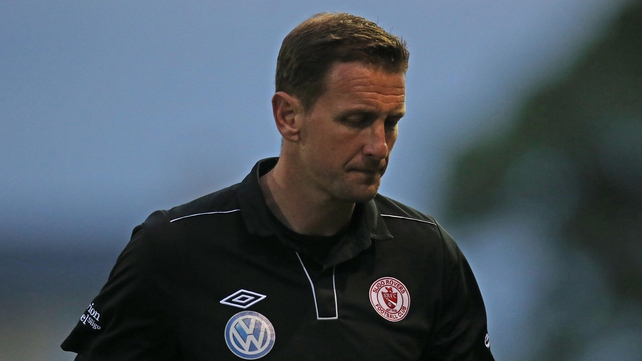 Ian Baraclough led Sligo to league success in his first season in charge