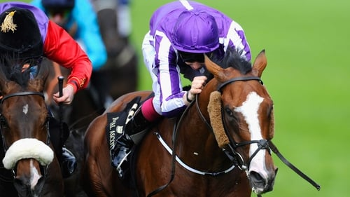 Leading Light secured the victory at the Curragh