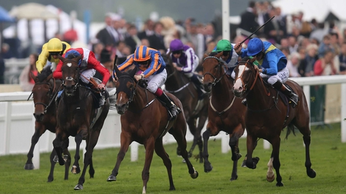 Bracelet powered through to win the Ribblesdale Stakes at Royal Ascot