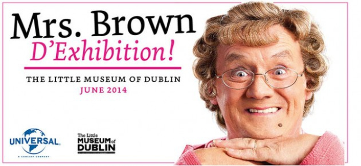 Mrs Brown: D'Exhibition