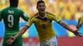 Goal: Colombia 1-0 Ivory Coast