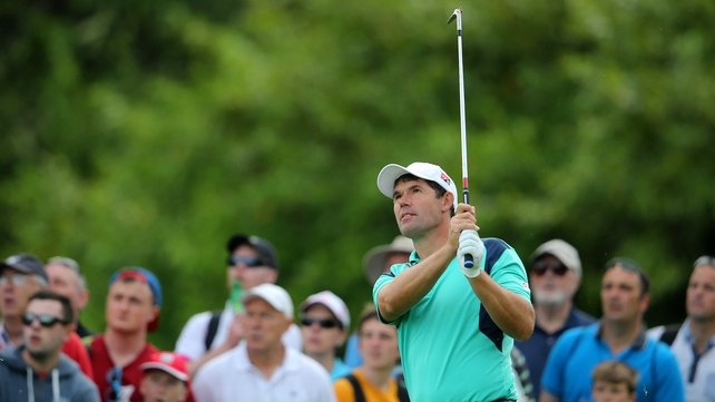 Padraig Harrington feels he sometimes tries too hard when out on the course