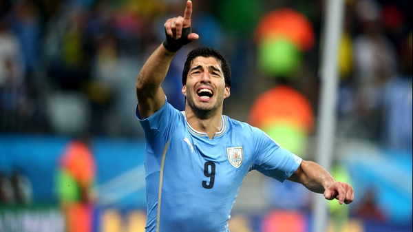 Barcelona are hot on Luis Suarez's tail despite his expulsion from World Cup for biting