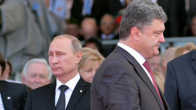 Vladimir Putin and Petro Poroshenko have had two phone conversations this week