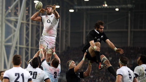 Geoff Parling has been England's best line-out caller on the tour