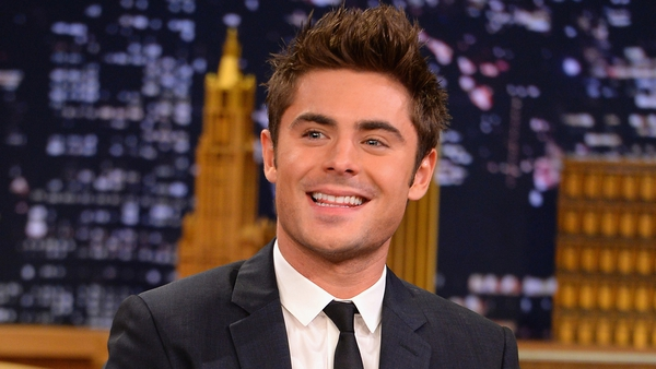 Efron - Took the top spot from last year's winner Tom Daley