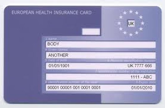 Travel Insurance / EHIC