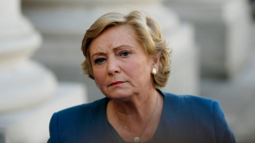 Frances Fitzgerald said her central priority is reform of policing