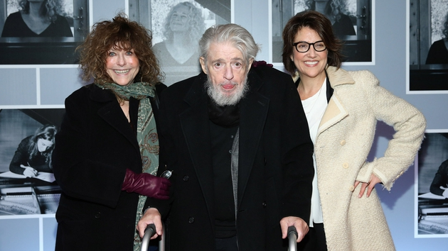 Gerry Goffin at the January 2014 opening of Beautiful - The Carole King Musical on  Broadway