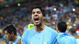 Luis Suárez - Uruguay's two-goal hero on the night