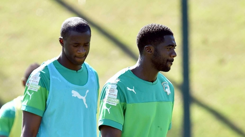 It is not yet known if the Toure brothers will leave the team camp