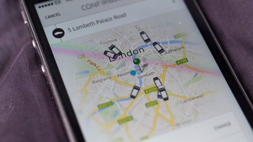 French police detain two Uber executives