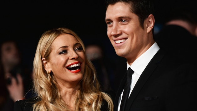 Vernon Kay (here with Tess Daly) presented a previous version of Name That Tune
