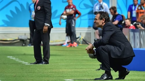 Cesare Prandelli resigned as Italian coach after they failed to get out of the group stage of the World Cup