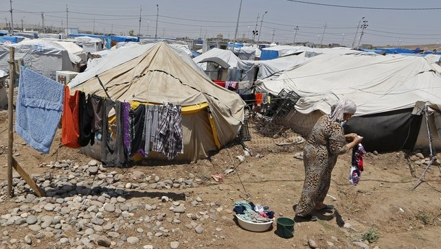 The UN says that about 6.4 million people have been internally displaced