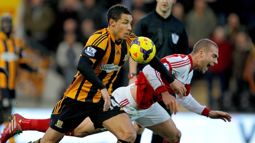 Jake Livermore spent last season on loan at Hull from Tottenham