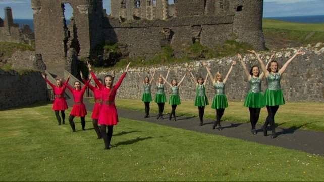 Dancers from both groups will open a concert by Horslips at Dunluce Castle (Pic: Macmillan Media Ireland)