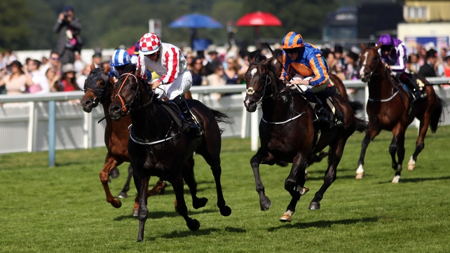 Slade Power recorded the biggest win of his career under regular pilot Wayne Lordan in the Diamond Jubilee Stakes