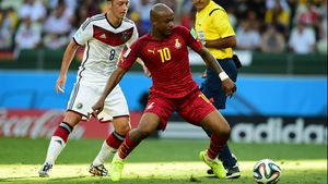 Andre Ayew was one of Ghana's stars at the 2014 World Cup