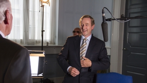 Enda Kenny was awarded with an Honorary Degree from Quinnipiac University