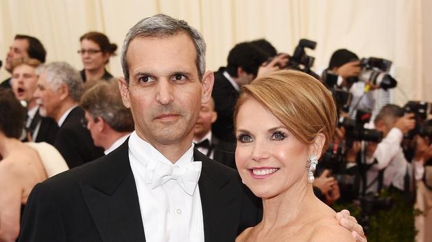 Katie Couric has married John Molner