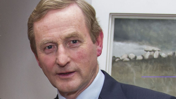 Taoiseach Enda Kenny said a Government of Fine Gael and Labour needed to work in Ireland's interests