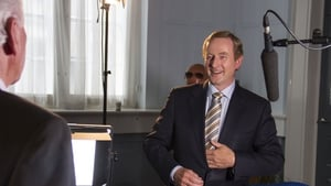 An Taoiseach Enda Kenny during the filming of The Meaning of Life
