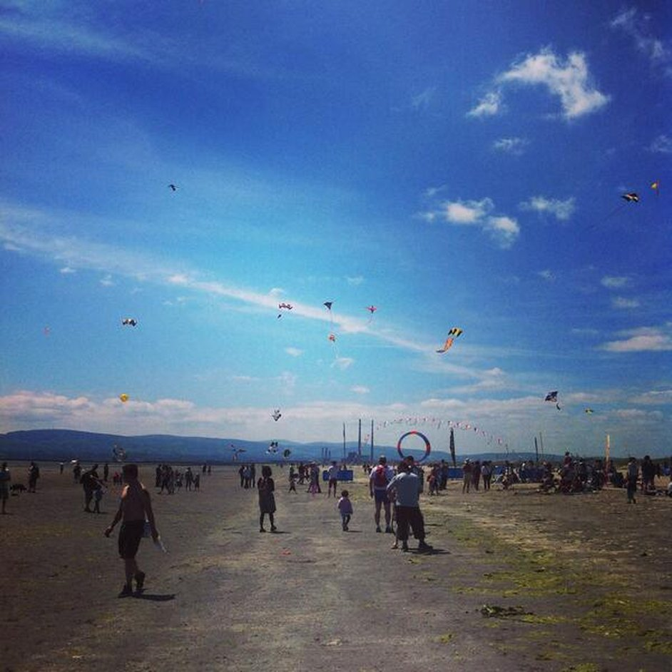 Dublin Kite Festival at Dollymount Strand (Pic: smacker_mc)